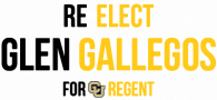 Re-elect Glen Gallegos